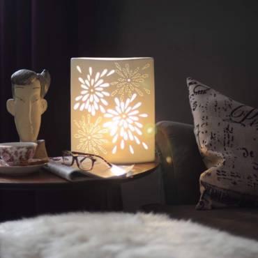 اواني وصواني Deem Home Novelty Lamp Paper Lamp Table Lamp