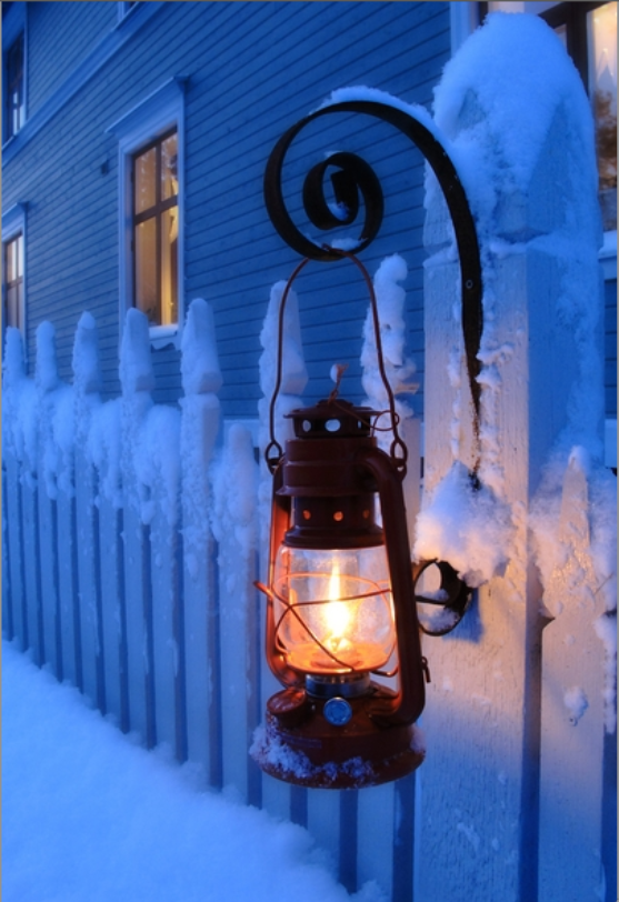 Red oil lamp ~ Christmas time