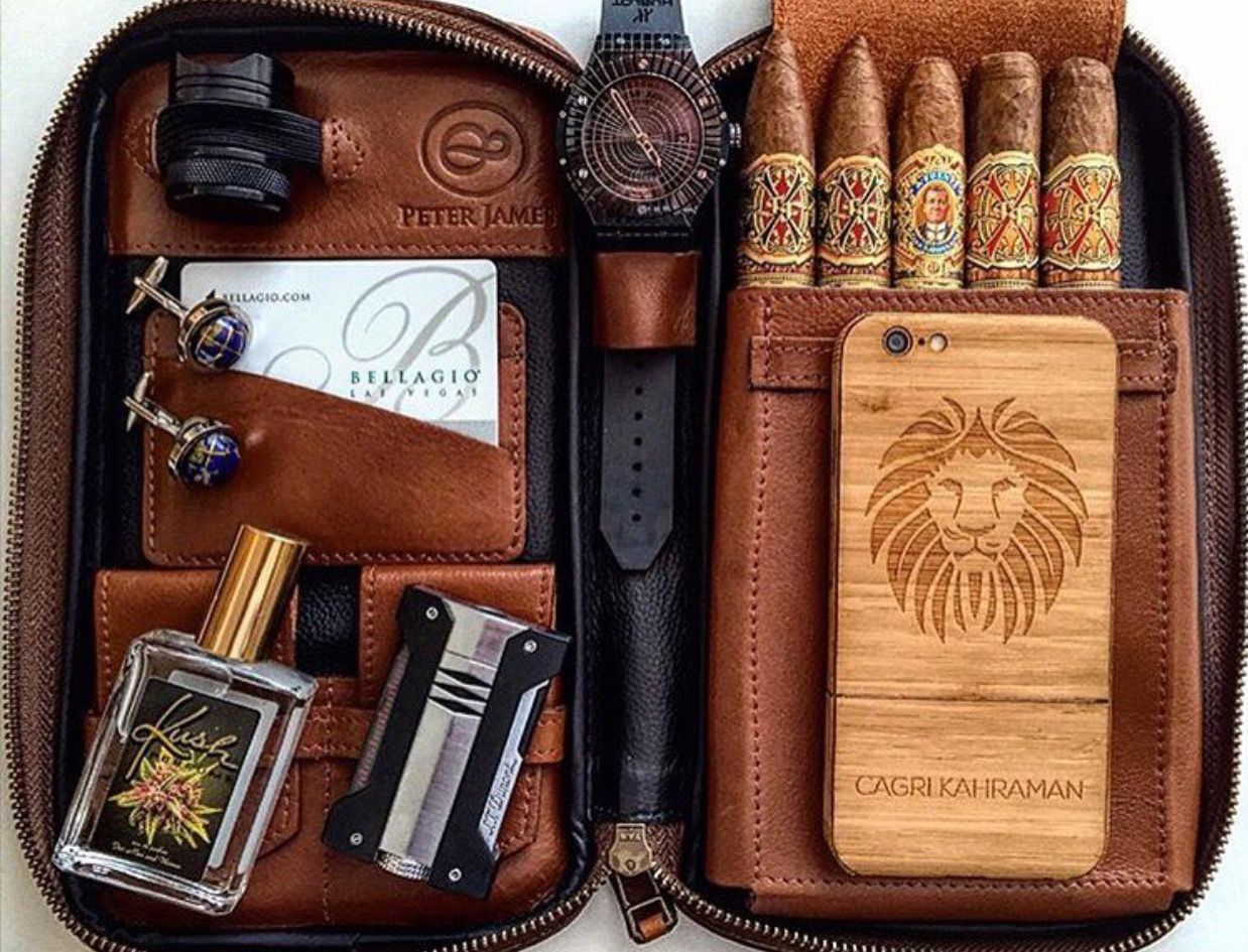 The Ultimate Set Up Cigars Cigars And Whiskey Cigar Cases