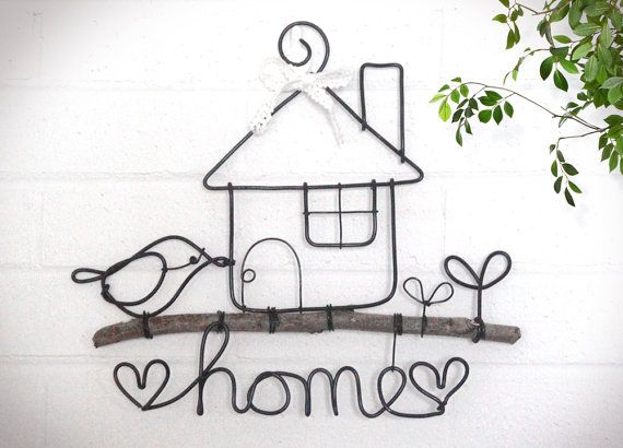 Wire coat hanger craft idea... @Donna Sanford