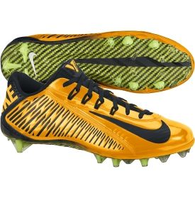 Nike Men\u0027s Vapor Carbon Elite TD Pittsburgh Steelers Football Cleat -  Yellow/Black   DICK\u0027S