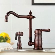 Mico Single Handle Kitchen Faucet With Side Spray