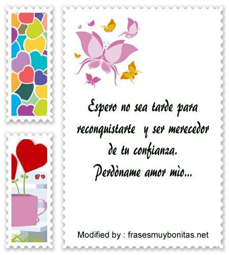 Frases De Amor Para Reconquistar A Mi Pareja Tarjetas De