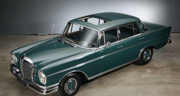 1964 MercedesBenz SClass Heckflosse 300 SEb