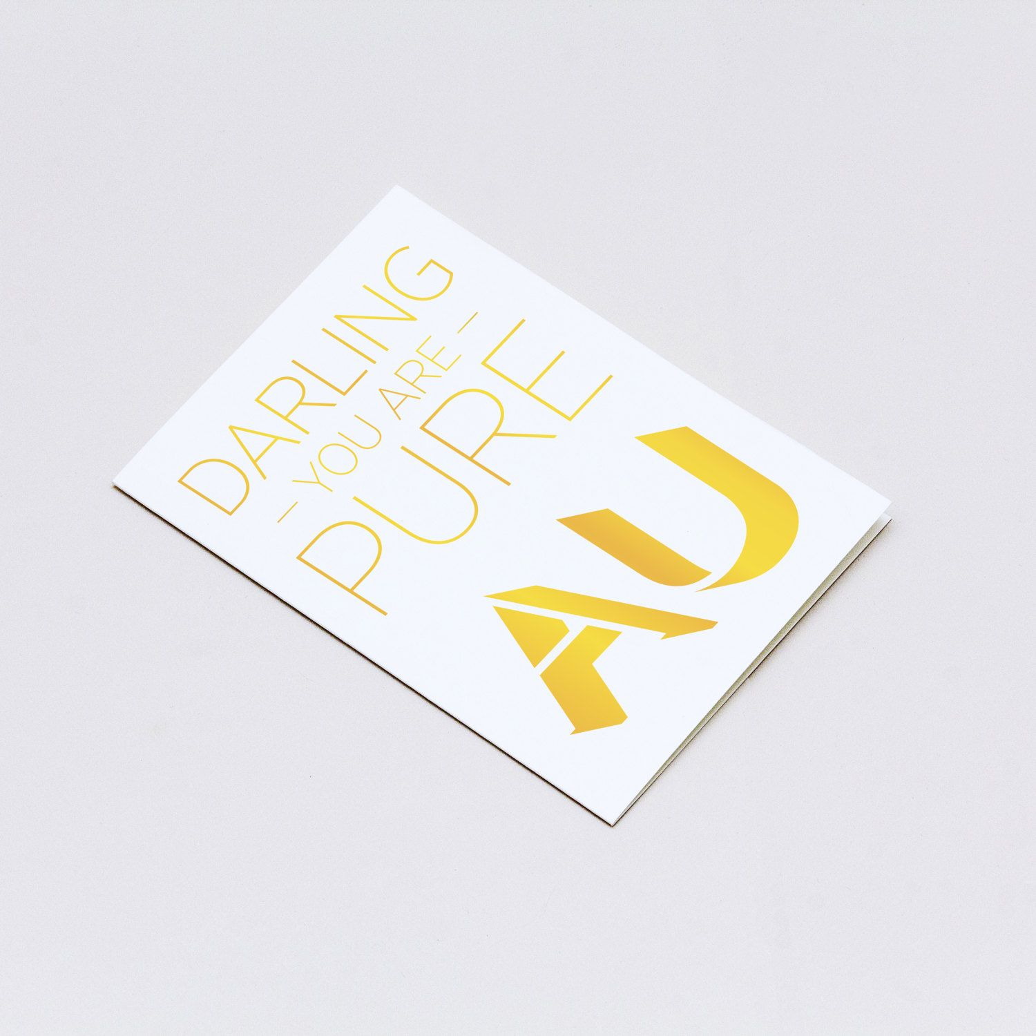 Darling you are pure gold valentines day card chemistry card darling you are pure gold valentines day card chemistry card organic chemistry chemistry periodic tablechemistry urtaz Gallery
