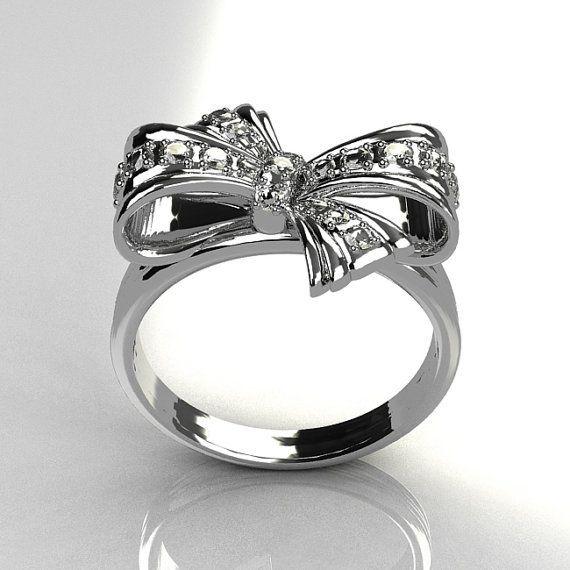 c91b4cc22127b Classic Style 950 Platinum Pave Diamond Ribbon Ring R92-PLATWGD ...