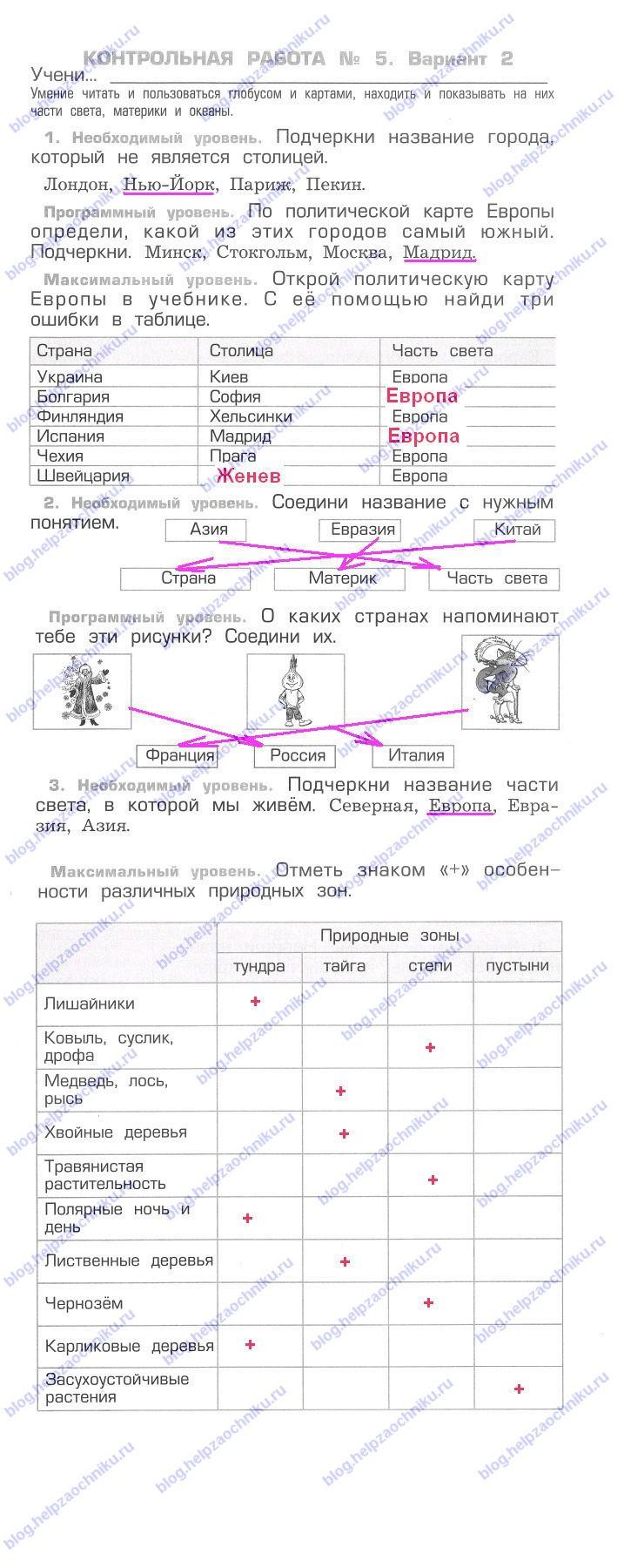 Тест за 1 полугодие по биологии 9 класс пономарева