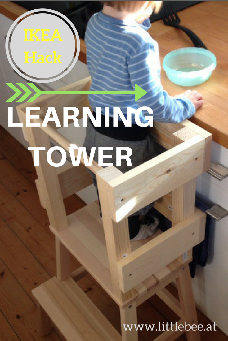 do it yourself Learning Tower  #ikeahack