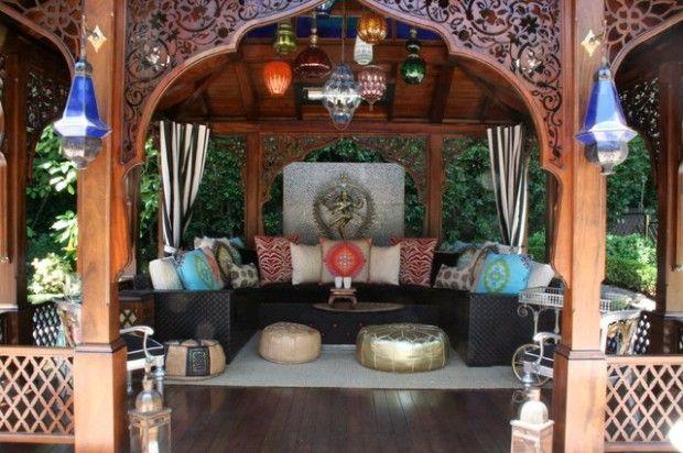moroccan patio - Google Search   patio   Pinterest   Moroccan ...