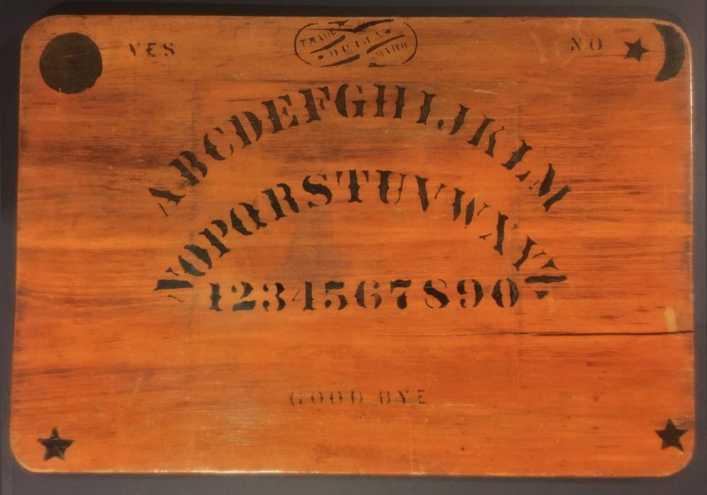 Very Rare Original Antique 1891 Ouija Board Spiritualism Occult