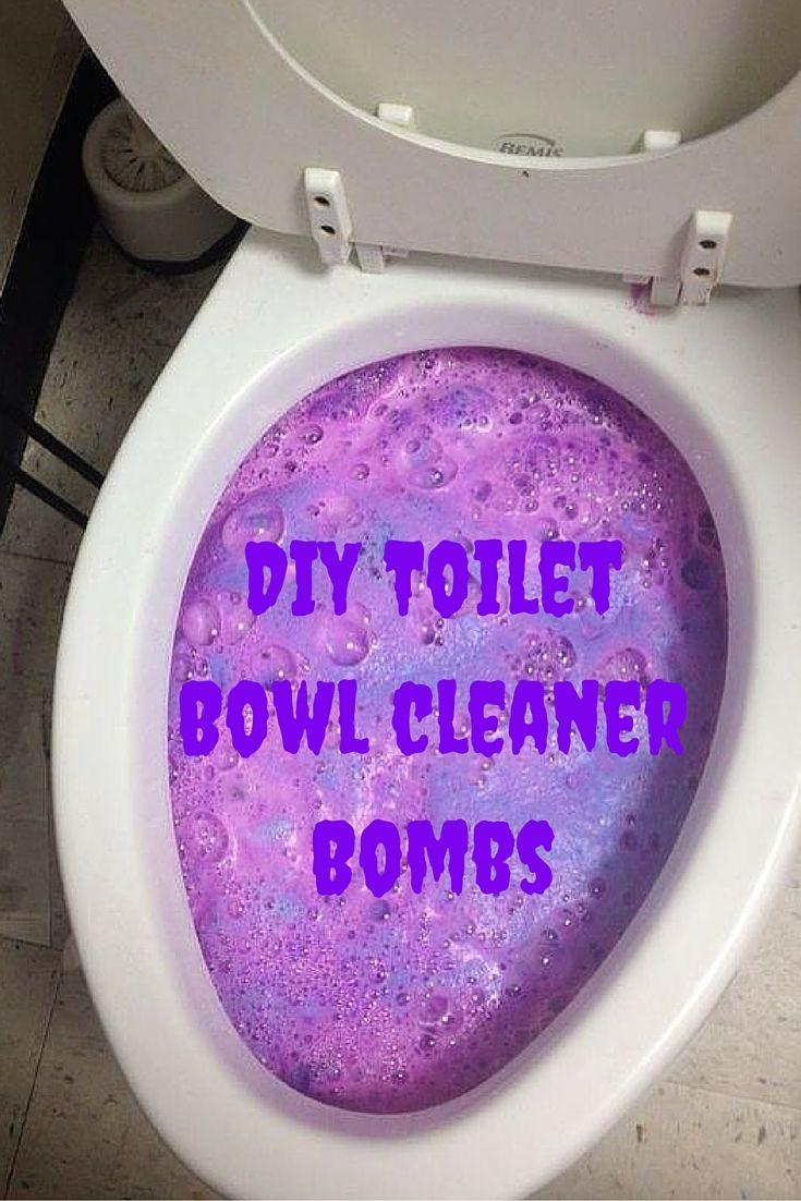 Easy Diy Toilet Bowl Cleaner Bomb Recipe Bathroom