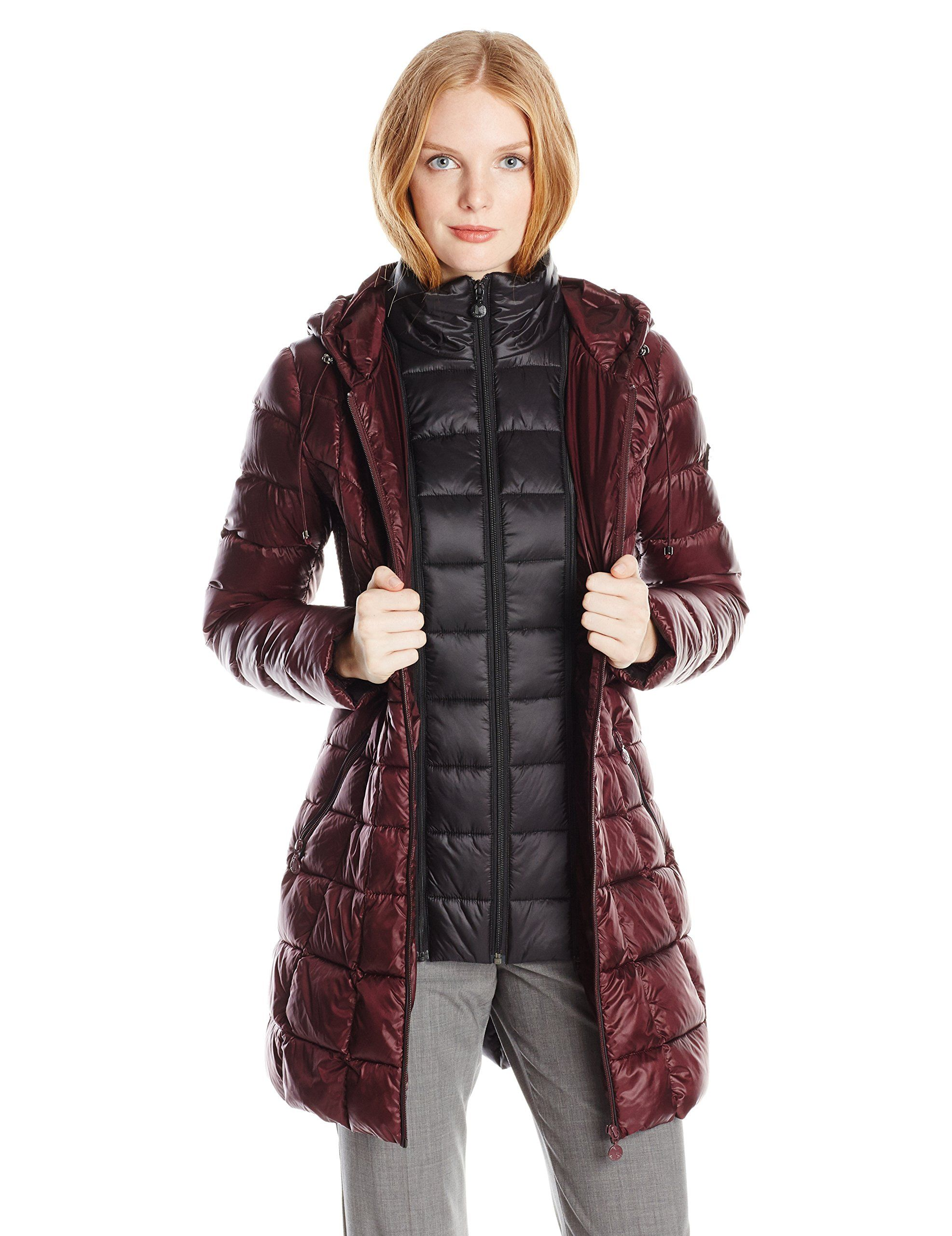 Bernardo Women S Packable Down Coat At Amazon Women S Coats Shop Puffer Jacket Women Coats For Women Quilted Outerwear [ 2560 x 1973 Pixel ]