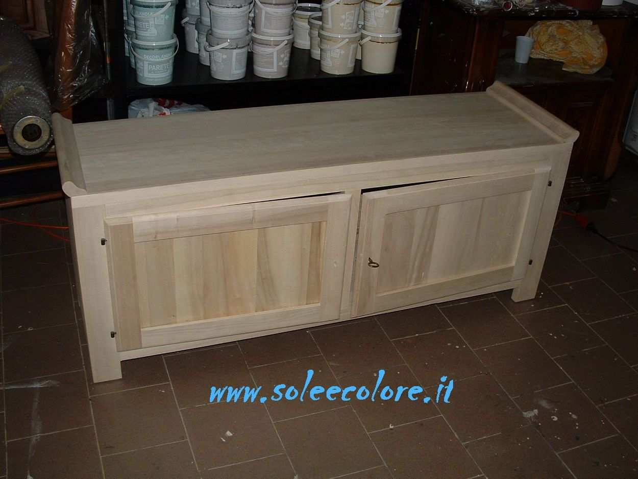 sito italiano con mobili grezzi da verniciare furnitures