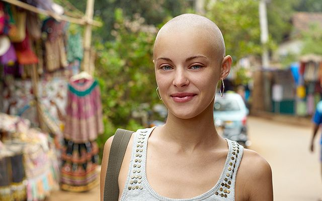 #bald #beautiful bald woman
