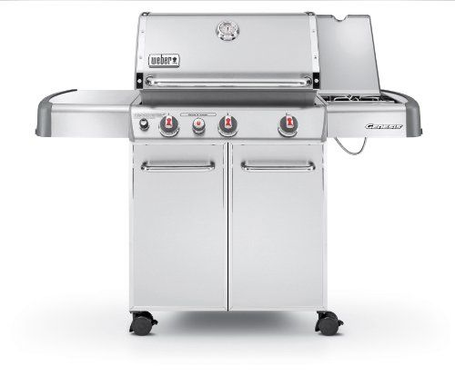 Weber Genesis 6570001 S 330 Stainless Steel 637 Square Inch 38 000 Btu Liquid Propane Gas Grill Best Gas Grills Natural Gas Grill Gas Grill