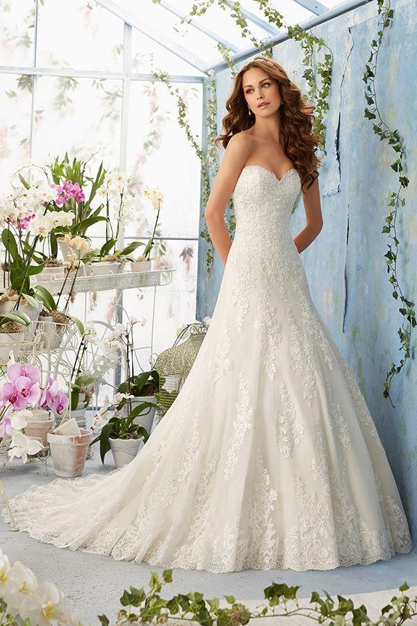 LookBook Mori lee wedding dress, A line wedding dress