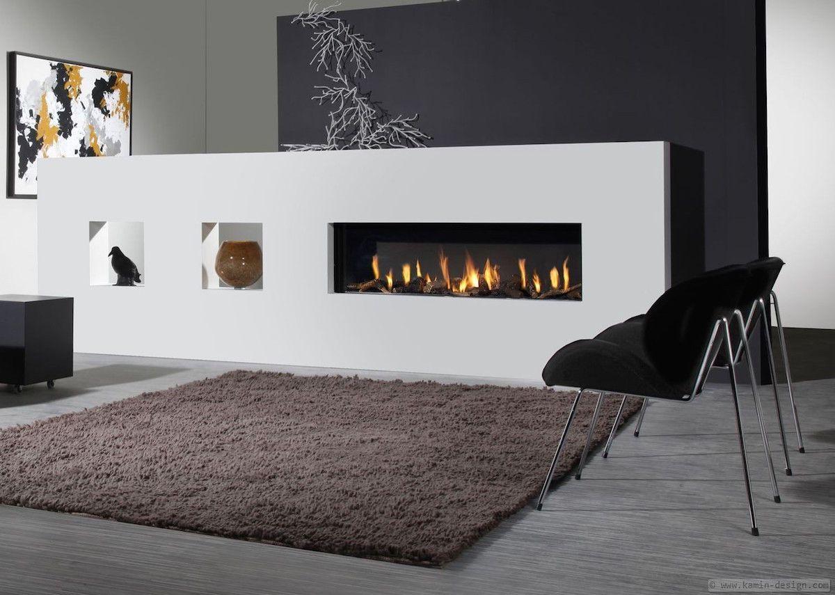 Elegante Raumteiler Kamine Kamin Design Design Elegante