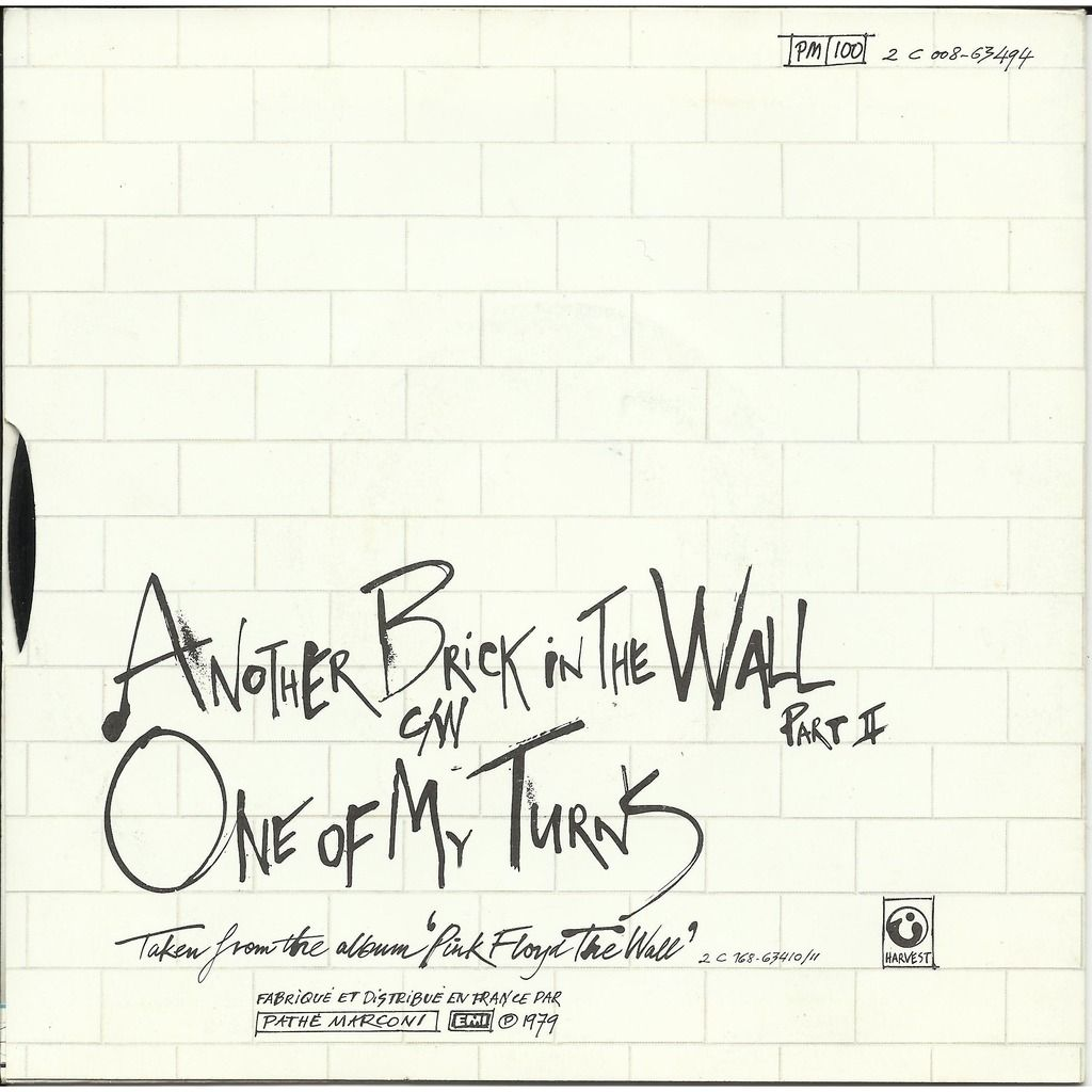 Another Brick In The Wall Part Ii Single Music History