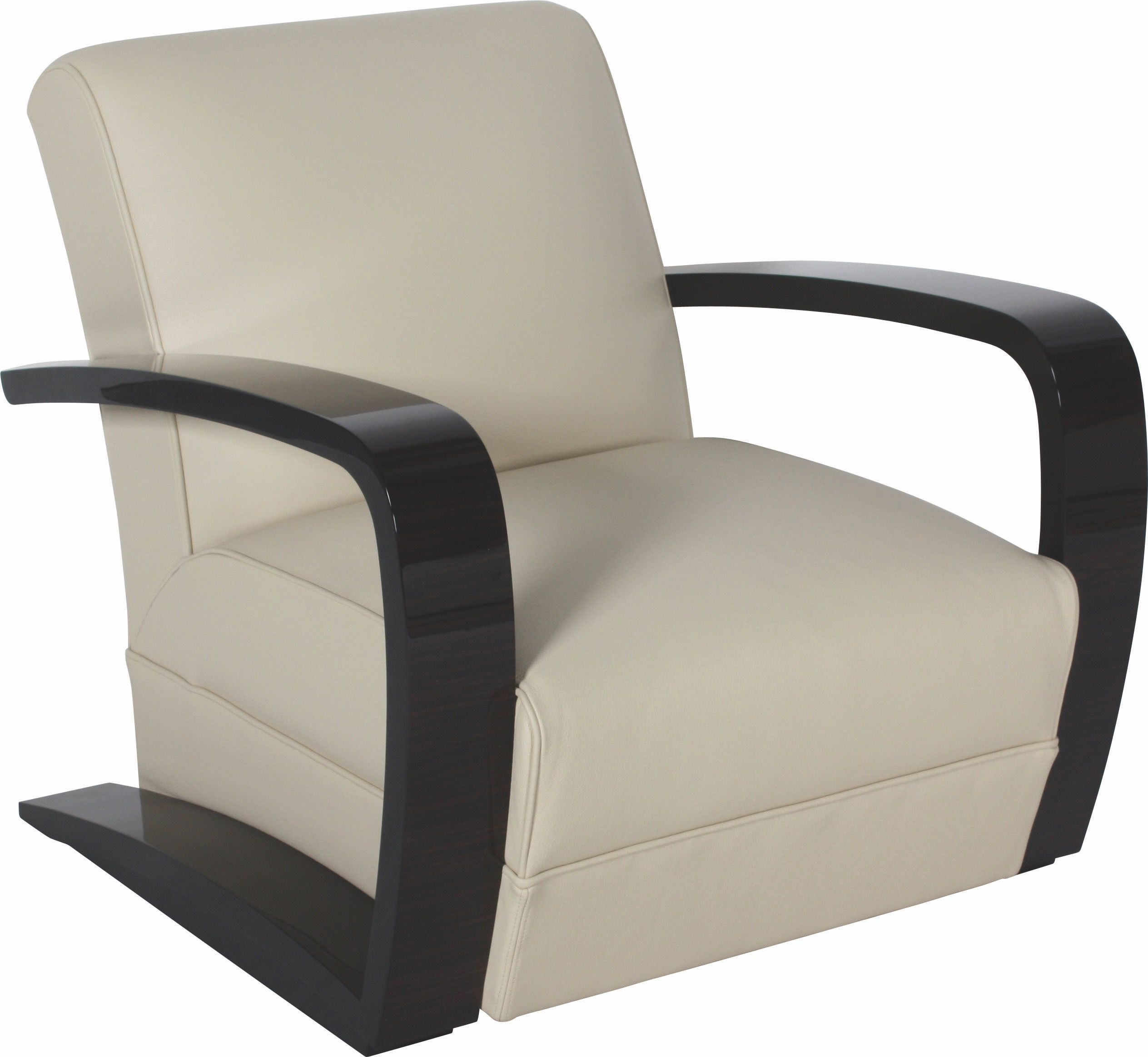 Art Deco Lounge Chair S023  Transitional Mid Century Modern Armchairs