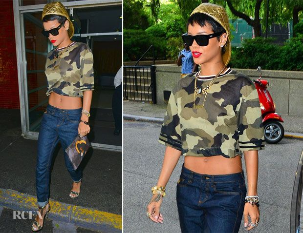 Rihanna In Rihanna for River Island – Out In New York City ...