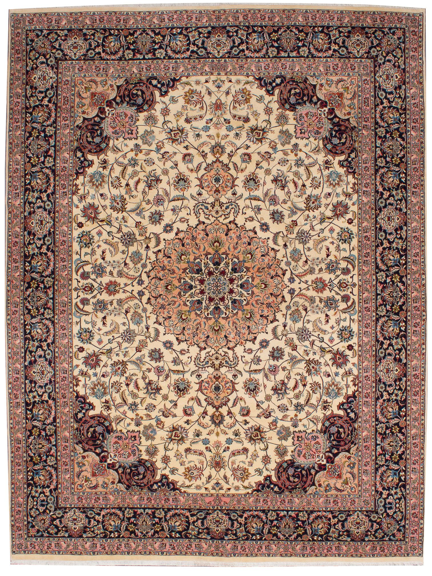 Persian Tabriz 50l 9 10 X 12 11 Hand Knotted Rug Ecarpetgallery With Images Scandinavian Rug Persian Rug Carpet Handmade