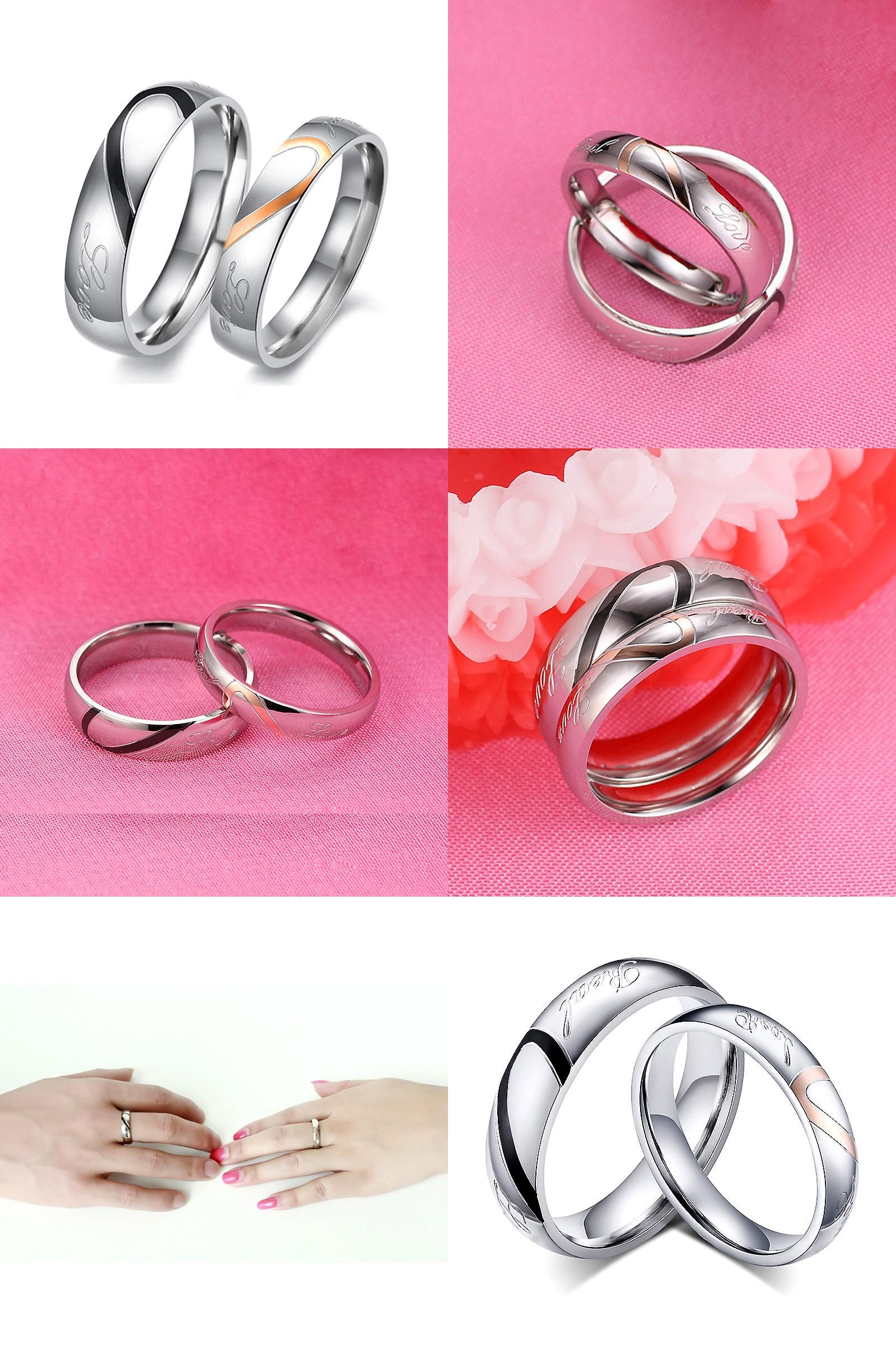 Visit to Buy] JEXXI 2016 Wholesale 925 Sterling Silver Double Rings ...