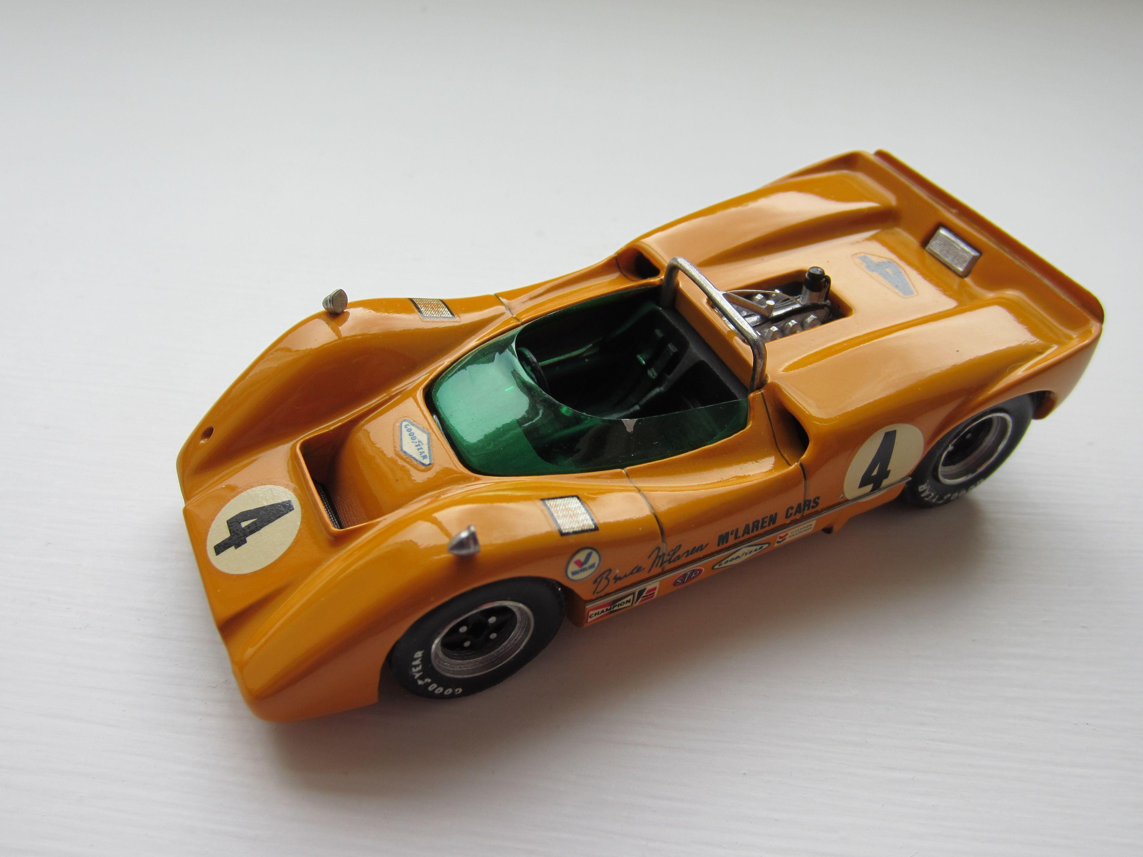 Bruce McLaren 1967 Can Am champion McLaren M6A