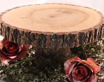 Wedding Or Smash Cake Stand Wedding Cake Stand Smash Cake Etsy Rustic Cake Stands Wood Slice Cake Stand Wood Slab Cake Stand