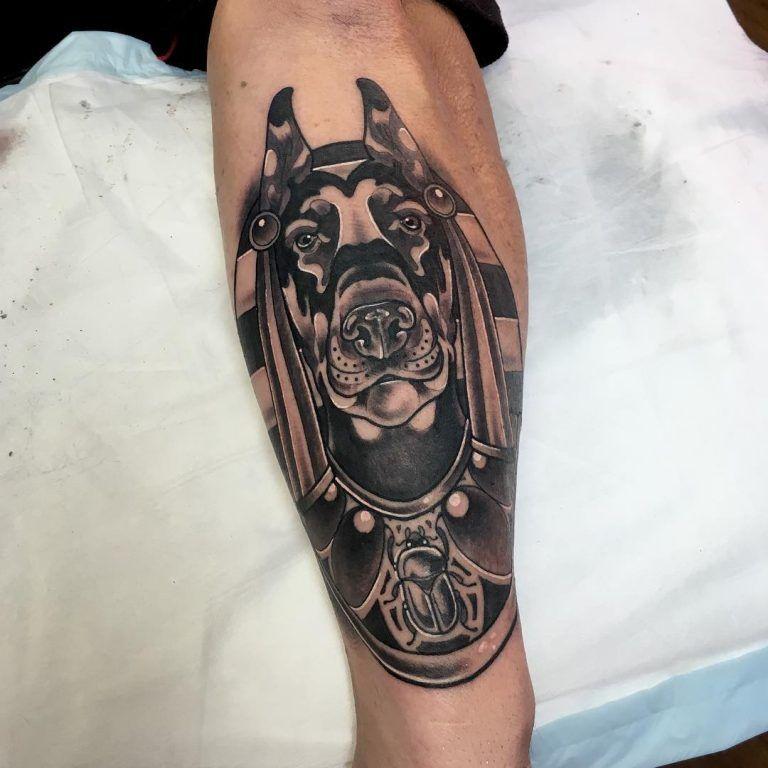 anubis tattoo17 | 紋身 | Anubis tattoo, Anubis, Tattoo designs