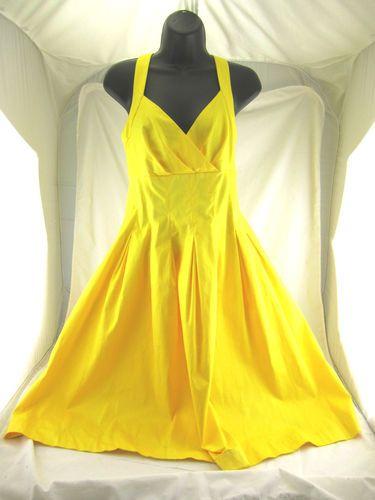 Calvin Klein yellow sundress.  It's sooo cute!