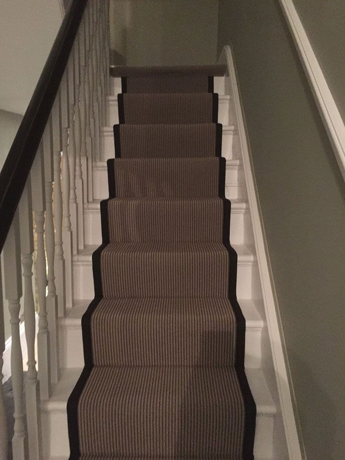 Best Patterned Stair Carpet Runner Fitted In Farringdon 400 x 300