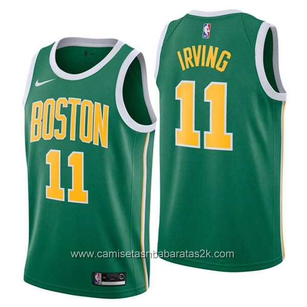 2918e1400 Camisetas nba baratas nike Earned Edition  11 kyrie irving Boston Celtics  2019