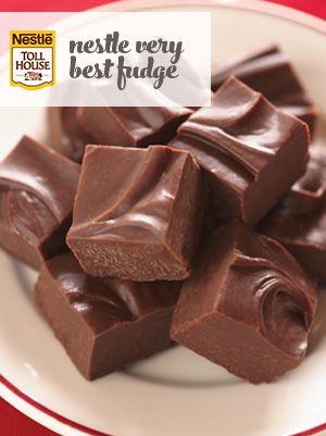 Nestle Very Best Fudge Recipe Homemade Fudge Fudge Recipes Fudge