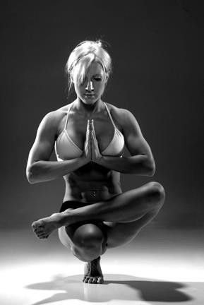 wow this girl is an amazing athlete  easy yoga poses