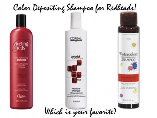 What S A Ginger To Do The Low Down On Color Depositing Shampoo Color Depositing Shampoo Red Shampoo Beauty Hair Color