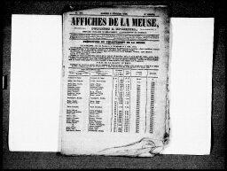 Recherche Presse Archives Departementales De La Me Affiche La Meuse Presse