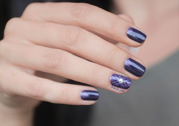Under The Twilight Essie Lady Of The Lake A England Nail Art Ideas