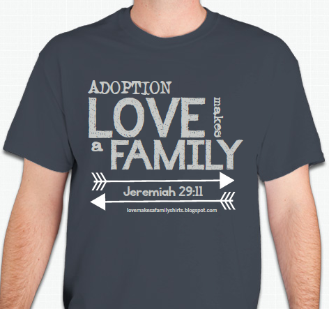 Adoption T Shirt Designs