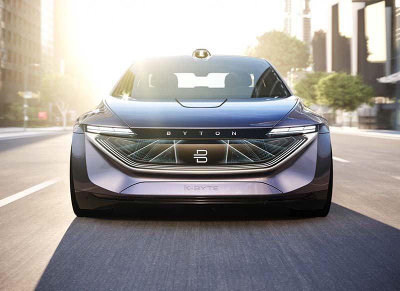 Byton Car K Byte Future Of Self Driving Mobiles Elektrofahrzeug Konzeptfahrzeuge Elektroauto