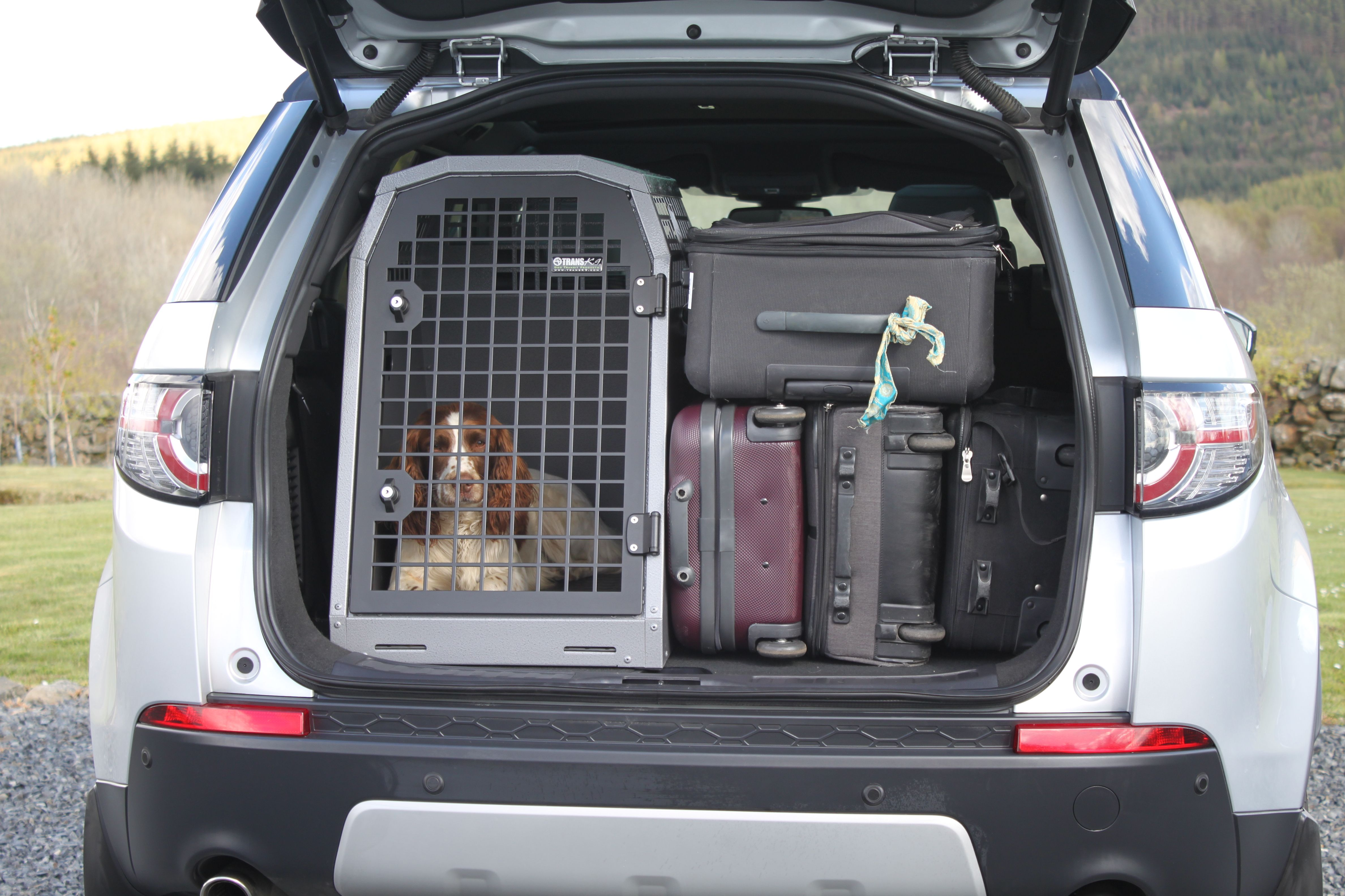 Transk9 B34 Space Saver Box For Discovery Sport Transport Your