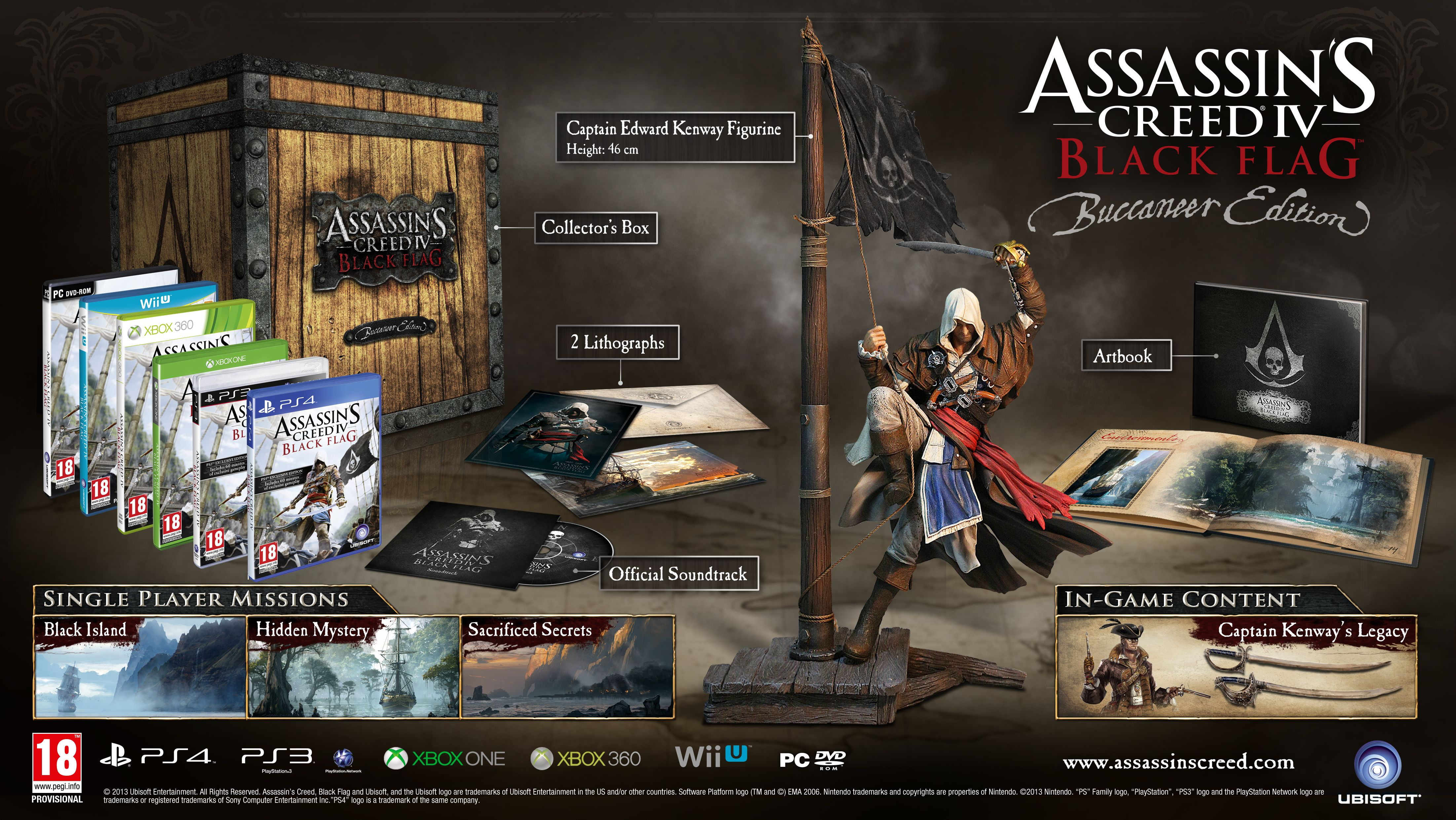 Here Is The Assassins Creed Iv Black Flag Gamestop Ireland
