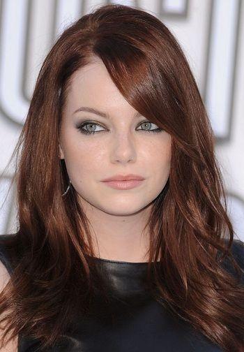 10 Hair Coloring Ideas For Indian Hair And Skin Tone For 2020 In 2020 Emma Stone Hair Color Hair Color For Fair Skin Hair Color Auburn