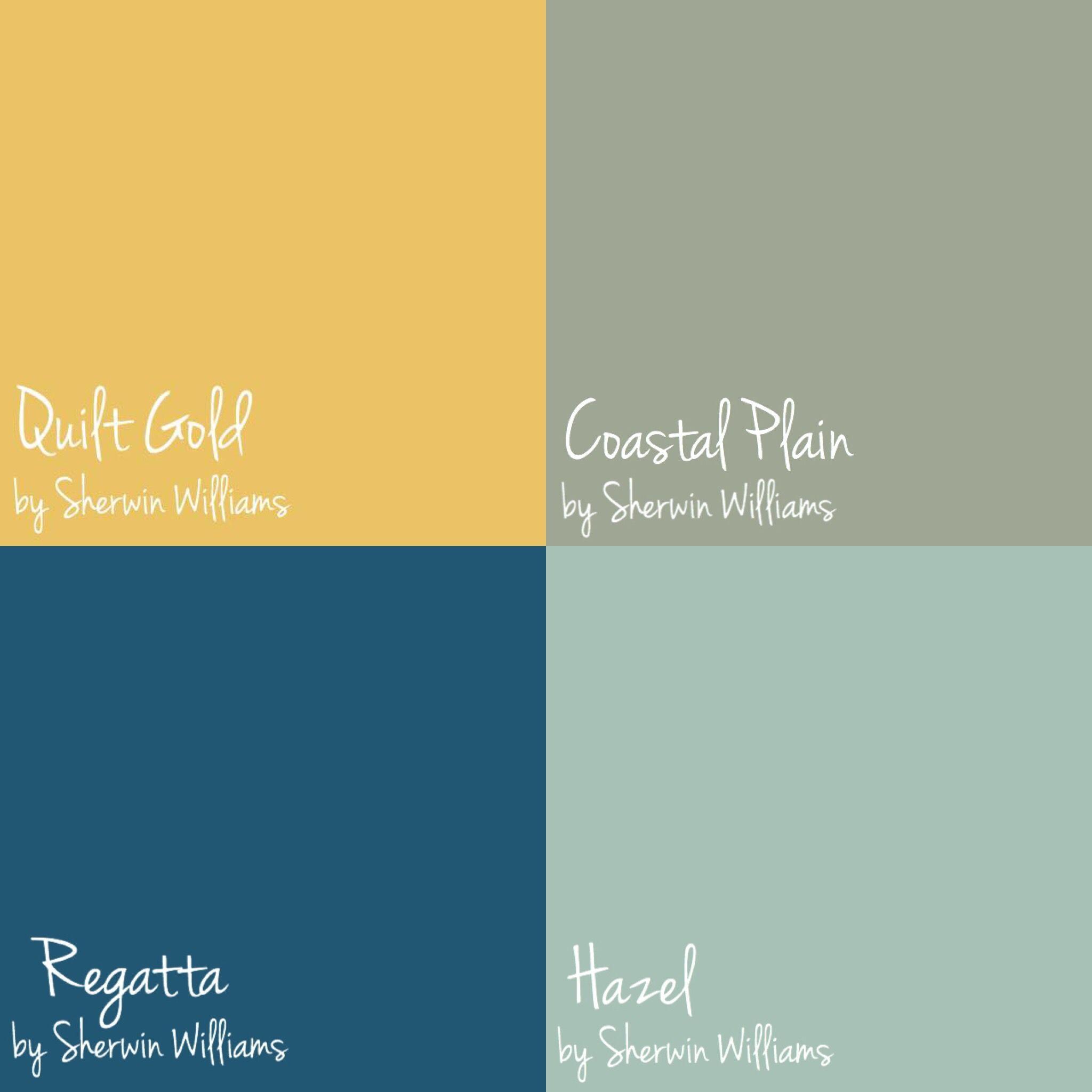 Roxie\'s favorite door color picks for 2017. Quilt Gold, Coastal ...