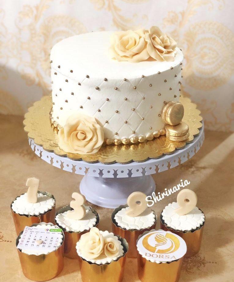 كيك عروسى Cake Desserts Vanilla Cake