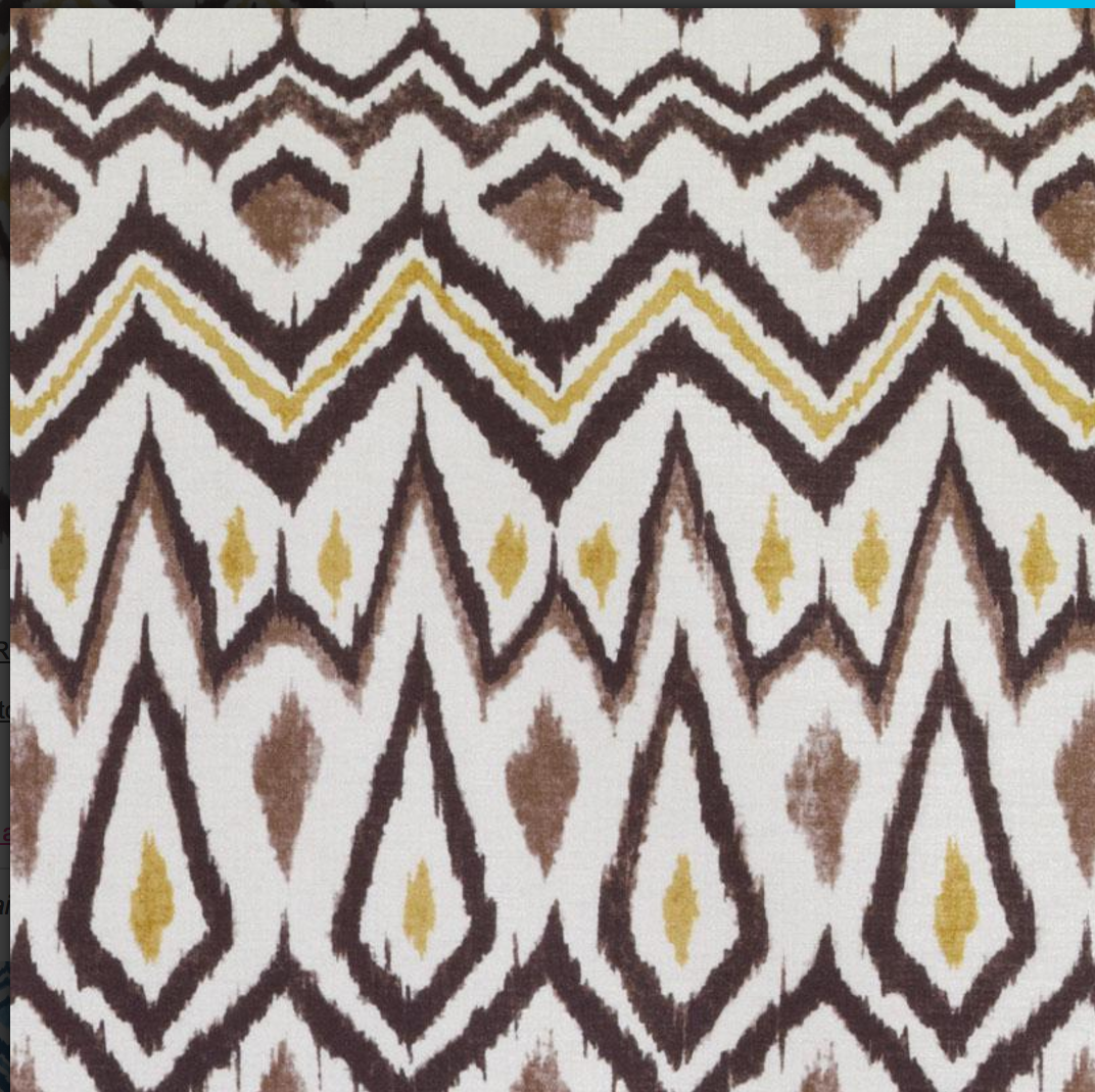 Clyde Fabric Native American Patterns Fabric French Fabric
