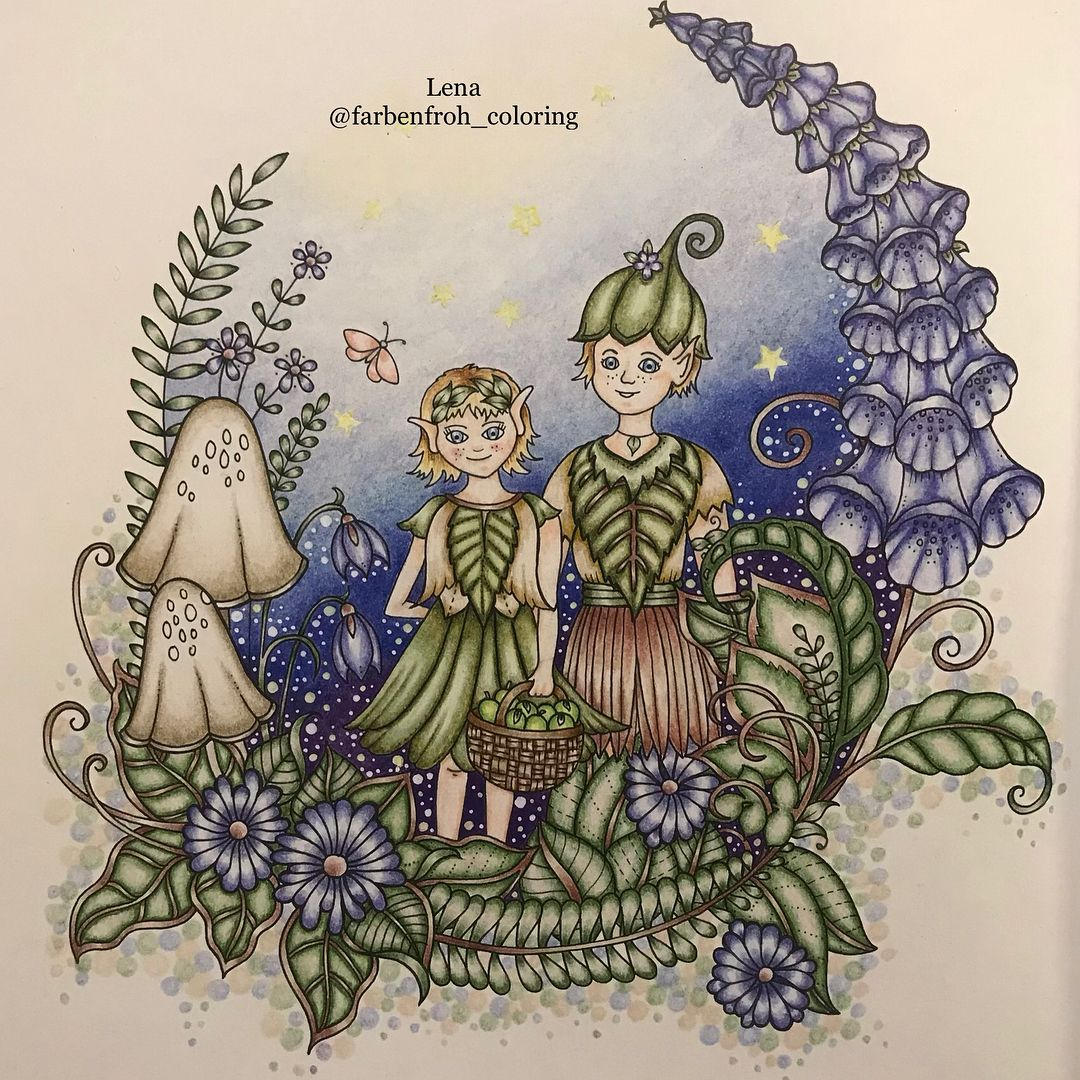 Back To Ivy I Have So Much Time At The Moment And I Feel Like Coloring With Prismacolor Pen Johanna Basford Coloring Book Coloring Books Butterfly Inspiration