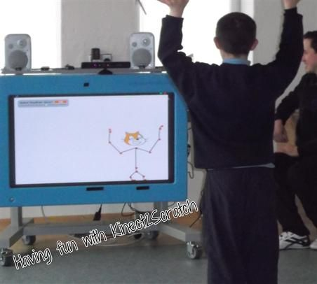 Exploring Kinect2Scratch in Little Angels School