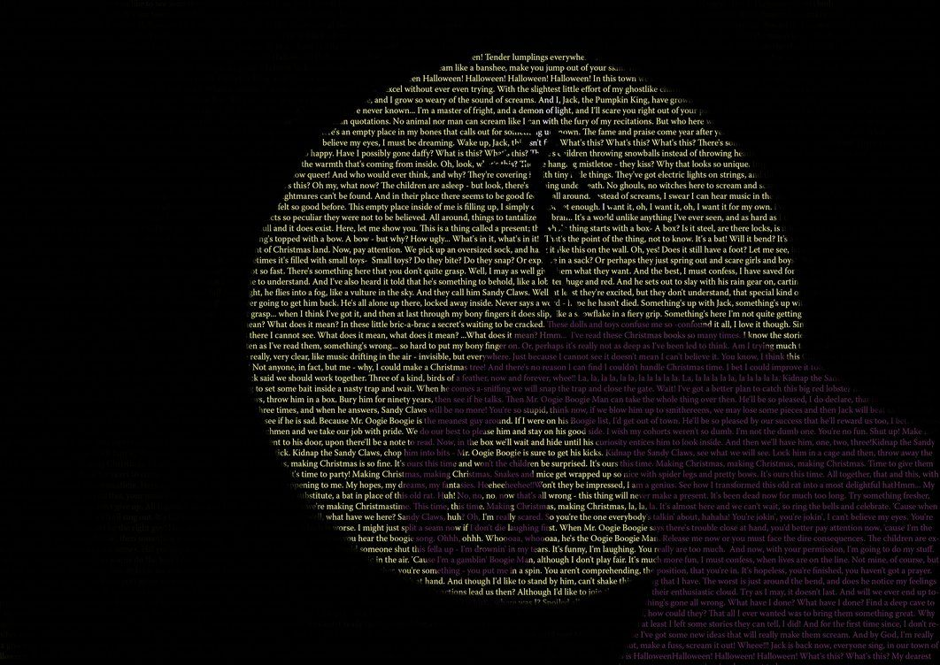 Quotes From The Movie The Nightmare Before Christmas Creating The I Nightmare Before Christmas Wallpaper Christmas Wallpapers Tumblr Nightmare Before Christmas