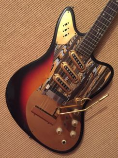 Framus 5/168 Vintage Golden Strato de Luxe in Bayern - Niederwerrn | Musikinstrumente und Zubehör gebraucht kaufen | eBay Kleinanzeigen