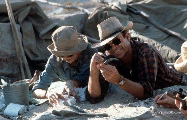Jurassic Park - Publicity still of Sam Neill & Laura Dern